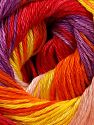Fiber Content 100% Mercerised Cotton, Yellow, Red, Purple, Orange, Light Pink, Brand Ice Yarns, fnt2-69531