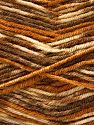 Fiber Content 75% Acrylic, 25% Wool, Brand Ice Yarns, Brown Shades, fnt2-69829