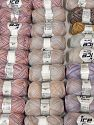 Cashmere Viscose Yarns In this list; you see most recent 50 mixed lots. <br> To see all <a href=&amp/mixed_lots/o/4#list&amp>CLICK HERE</a> (Old ones have much better deals)<hr> İçerik 85% Viskon, 15% Kaşmir, Brand Ice Yarns, fnt2-69859