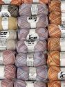 Cashmere Viscose Yarns In this list; you see most recent 50 mixed lots. <br> To see all <a href=&amp/mixed_lots/o/4#list&amp>CLICK HERE</a> (Old ones have much better deals)<hr> İçerik 85% Viskon, 15% Kaşmir, Brand Ice Yarns, fnt2-69861