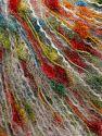 Contenido de fibra 50% Micro fibra, 38% Acrílico, 11% Poliamida, 1% Elastan, Rainbow, Brand Ice Yarns, fnt2-70081