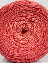 Fiber Content 55% Organic Cotton, 45% Acrylic, Rose Pink, Brand Ice Yarns, fnt2-70139