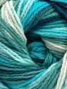 Fiber Content 100% Acrylic, Turquoise Shades, Brand Ice Yarns, fnt2-70161