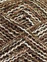 Fiber Content 45% Acrylic, 45% Cotton, 10% Polyester, Light Khaki, Brand Ice Yarns, Cream, Brown, fnt2-70274