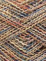 Fiber Content 45% Cotton, 45% Acrylic, 10% Polyester, Red, Light Camel, Brand Ice Yarns, Blue, Beige, fnt2-70277