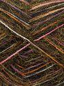 Fiber Content 8% Mohair, 40% Acrylic, 30% Nylon, 12% Acrylic, 10% Wool, White, Salmon, Lilac, Brand Ice Yarns, Gold, Black, fnt2-70440