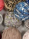 Upcycled Fabric Yarns In this list; you see most recent 50 mixed lots. <br> To see all <a href=&amp/mixed_lots/o/4#list&amp>CLICK HERE</a> (Old ones have much better deals)<hr> Fiber Content 95% Cotton, 5% Elastan, Brand Ice Yarns, fnt2-70475