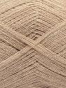 Fiber Content 85% Viscose, 15% Cashmere, Brand Ice Yarns, Beige, fnt2-70532