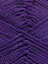Fiber Content 100% Polyester, Purple, Brand Ice Yarns, fnt2-70705