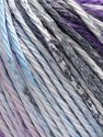 Fiber Content 100% Cotton, Pink Shades, Lilac, Light Blue, Brand Ice Yarns, Dark Grey, fnt2-70834