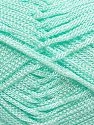 Width is 2-3 mm Fiber Content 100% Polyester, Mint Green, Brand Ice Yarns, fnt2-70961