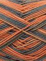 Fiber Content 50% Cotton, 50% Acrylic, Orange, Brand Ice Yarns, Grey, Yarn Thickness 2 Fine Sport, Baby, fnt2-71258