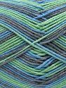 Fiber Content 50% Cotton, 50% Acrylic, Mint Green, Brand Ice Yarns, Grey, Blue, Yarn Thickness 2 Fine Sport, Baby, fnt2-71263
