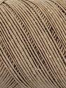 Contenido de fibra 70% Poliéster, 30% Algodón, Light Camel, Brand Ice Yarns, fnt2-71391