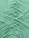 Width is 2-3 mm Contenido de fibra 100% Poliéster, Mint Green, Brand Ice Yarns, fnt2-71457