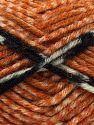 Contenido de fibra 50% Acrílico, 40% Lana, 10% Viscosa, White, Orange, Brand Ice Yarns, Gold, Black, Beige, fnt2-71512