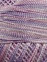 Fiber Content 100% Micro Fiber, Brand YarnArt, White, Pink, Lilac, Yarn Thickness 0 Lace  Fingering Crochet Thread, fnt2-17335