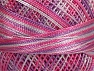 Fiber Content 100% Micro Fiber, Brand YarnArt, White, Violet, Lilac, Yarn Thickness 0 Lace  Fingering Crochet Thread, fnt2-17339