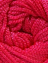 Width is 3 mm Fiber Content 100% Polyester, Pink, Brand Ice Yarns, fnt2-21646