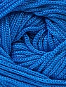 Width is 3 mm Fiber Content 100% Polyester, Brand Ice Yarns, Blue, fnt2-21648