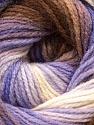 İçerik 100% Akrilik, White, Lilac, Brand Ice Yarns, Brown, Yarn Thickness 3 Light DK, Light, Worsted, fnt2-22024