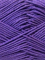 Fiber Content 100% Mercerised Cotton, Purple, Brand Ice Yarns, Yarn Thickness 2 Fine  Sport, Baby, fnt2-23335