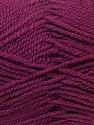 Worsted  Fiber Content 100% Acrylic, Maroon, Brand Ice Yarns, Yarn Thickness 4 Medium  Worsted, Afghan, Aran, fnt2-23736