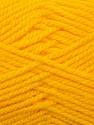 Bulky  Fiber Content 100% Acrylic, Yellow, Brand Ice Yarns, Yarn Thickness 5 Bulky  Chunky, Craft, Rug, fnt2-23751