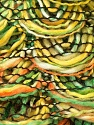Fiber Content 90% Acrylic, 10% Polyester, Yellow, Orange, Brand Ice Yarns, Green, Yarn Thickness 6 SuperBulky  Bulky, Roving, fnt2-24127