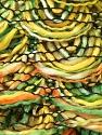 Fiber Content 90% Acrylic, 10% Polyester, Yellow, Orange, Brand Ice Yarns, Green, Yarn Thickness 6 SuperBulky  Bulky, Roving, fnt2-24127