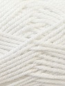 Bulky  Fiber Content 100% Acrylic, White, Brand Ice Yarns, Yarn Thickness 5 Bulky  Chunky, Craft, Rug, fnt2-24500