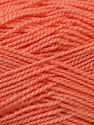 Fiber Content 100% Acrylic, Salmon, Brand Ice Yarns, Yarn Thickness 1 SuperFine  Sock, Fingering, Baby, fnt2-24592
