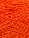 Fiber Content 100% Acrylic, Orange, Brand Ice Yarns, Yarn Thickness 1 SuperFine  Sock, Fingering, Baby, fnt2-24593