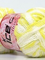 Fiber Content 100% Acrylic, White, Light Green, Brand Ice Yarns, Yarn Thickness 6 SuperBulky Bulky, Roving, fnt2-25170