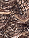 Fiber Content 90% Acrylic, 10% Polyester, Brand Ice Yarns, Brown Shades, Yarn Thickness 6 SuperBulky  Bulky, Roving, fnt2-25476