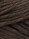 Fiber Content 100% Australian Wool, Brand Ice Yarns, Dark Brown, Yarn Thickness 6 SuperBulky  Bulky, Roving, fnt2-26156
