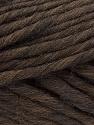 Fiber Content 100% Australian Wool, Brand Ice Yarns, Dark Brown, Yarn Thickness 6 SuperBulky Bulky, Roving, fnt2-26156