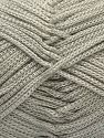 Width is 3 mm Fiber Content 100% Polyester, Brand Ice Yarns, Grey, fnt2-27082