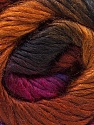 Fiber Content 40% Wool, 30% Mohair, 30% Acrylic, Purple, Brand Ice Yarns, Gold, Fuchsia, Copper, Brown, Yarn Thickness 3 Light  DK, Light, Worsted, fnt2-27204