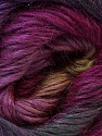 Fiber Content 40% Wool, 30% Mohair, 30% Acrylic, Purple, Olive Green, Maroon, Brand Ice Yarns, Yarn Thickness 3 Light  DK, Light, Worsted, fnt2-27209