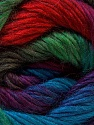 Fiber Content 40% Wool, 30% Mohair, 30% Acrylic, Red, Purple, Brand Ice Yarns, Green Shades, Blue, Yarn Thickness 3 Light  DK, Light, Worsted, fnt2-27210