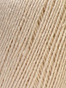 Fiber Content 50% Linen, 50% Viscose, Brand Ice Yarns, Cream, Yarn Thickness 2 Fine  Sport, Baby, fnt2-27249