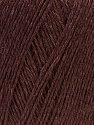 Contenido de fibra 50% Viscosa, 50% Ropa, Brand Ice Yarns, Dark Brown, Yarn Thickness 2 Fine  Sport, Baby, fnt2-27254