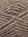 SuperBulky  Fiber Content 60% Acrylic, 30% Alpaca, 10% Wool, Light Camel, Brand Ice Yarns, Yarn Thickness 6 SuperBulky  Bulky, Roving, fnt2-30828