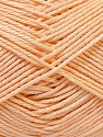 Fiber Content 100% Mercerised Cotton, Brand Ice Yarns, Dark Cream, Yarn Thickness 2 Fine  Sport, Baby, fnt2-32546