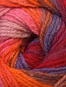 Fiber Content 100% Acrylic, Red, Orange, Brand Ice Yarns, Burgundy, Brown Shades, Yarn Thickness 3 Light  DK, Light, Worsted, fnt2-33057