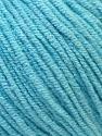Fiber Content 50% Acrylic, 50% Cotton, Light Turquoise, Brand Ice Yarns, Yarn Thickness 3 Light DK, Light, Worsted, fnt2-33062