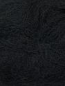Fiber Content 70% Mohair, 30% Acrylic, Brand Ice Yarns, Black, Yarn Thickness 3 Light  DK, Light, Worsted, fnt2-35044