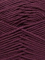 Fiber Content 100% Antibacterial Dralon, Maroon, Brand Ice Yarns, Yarn Thickness 2 Fine  Sport, Baby, fnt2-35241