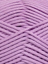 This is a tube-like yarn with soft fleece inside. İçerik 73% Viskon, 27% Polyester, Light Lilac, Brand Ice Yarns, Yarn Thickness 5 Bulky Chunky, Craft, Rug, fnt2-35607